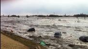 Ето как цунамито помита всичко по пътя си ( Япония )
