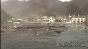 Брутални кадри от цунамито в Япония 2