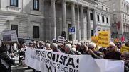 Spain: 25,000 hit Barcelona to demand better pension packets