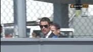 Реал Мадрид пристигна в София.