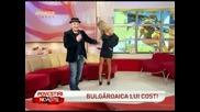 Андреа и Кости (sahara) интервю в румънско тв шоу