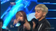(hd) Myname - Hello & Goodbye (comeback stage) ~ Music Bank (01.06.2012)