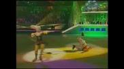 Сергей Лазарев Танци на лед - клоун