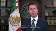 Mexico: Nieto calls on Trump to end rhetoric over southern border