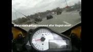 Моторист Беснее На Магистралата