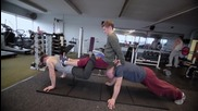 Диваци във Фитнеса - Damien Walters & Tim Shieff 2013