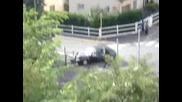 Полицейска Кола Се Блъска