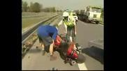 Фатална мото катастрофа със 180 км/ч - смъртен случай
