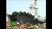 Кадри след цунамито в Япония