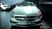 2015 Mercedes-benz S63 Amg Coupe - Exterior,interior Walkaround - Debut at 2014 New York Auto Show