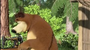 Маша и Медведь - Большая стирка - Hd ( Маша и мечока - Голямото пране)