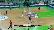 Кошът на годината - Olimpija - Partizan 87:58