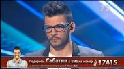 Сабатин Гогов - X Factor Live (21.10.2014)