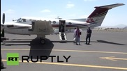 Yemen: First humanitarian aid planes arrive in Sanaa