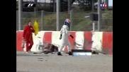 Катастрофа на Кими Райконен по време на тестовете през 2006 година
