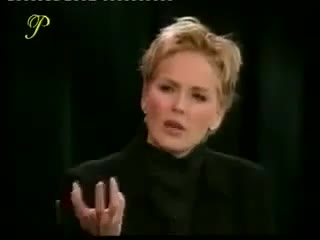 Sharon Stone inside the actors studio