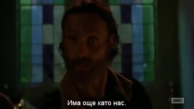Сериал - Живите мъртви - Сезон 5 Епизод 3 | Бг Субтитри