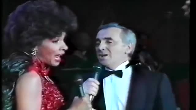 Shirley Bassey - Yesterday When I Was Young (with Charles Aznavour)