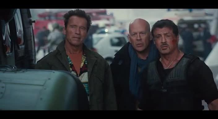 Филм - Непобедимите 2 - Бг Аудио ( Високо Качество ) Част 2 (2012)