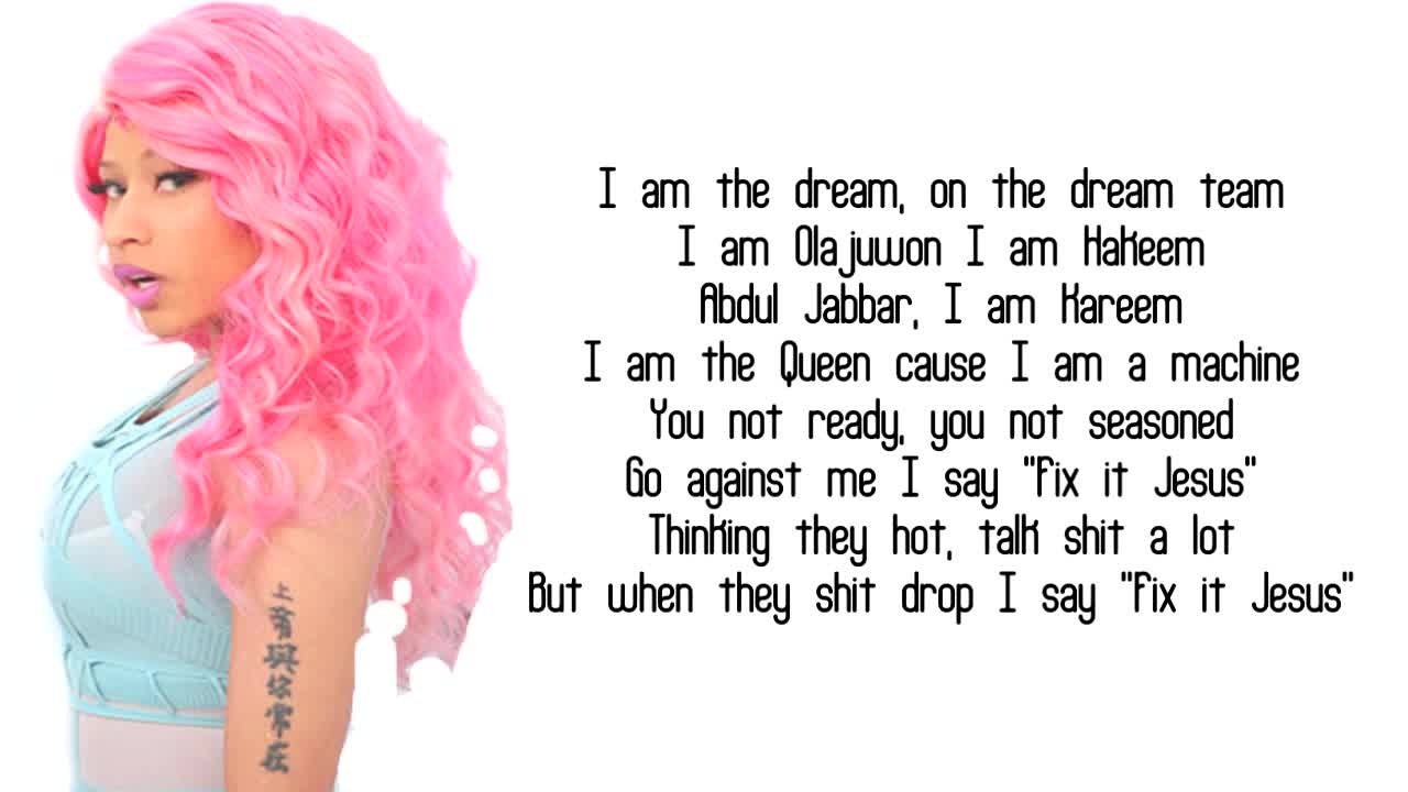 Quotes From Nicki Minaj Nicki Minaj - Yass Bish   ft