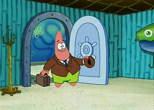 Spongebob Rock A Bye Bivalve Spongebob squarepants - rockSpongebob Rock A Bye Bivalve Gif
