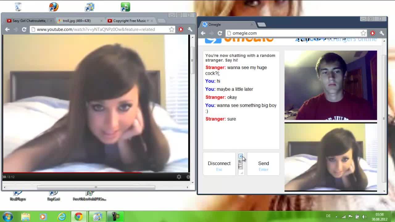 Hot+omegle hot girl trolls me on omegle!