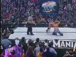 W W E Wrestlemania 20 - Christian vs Chris Jericho
