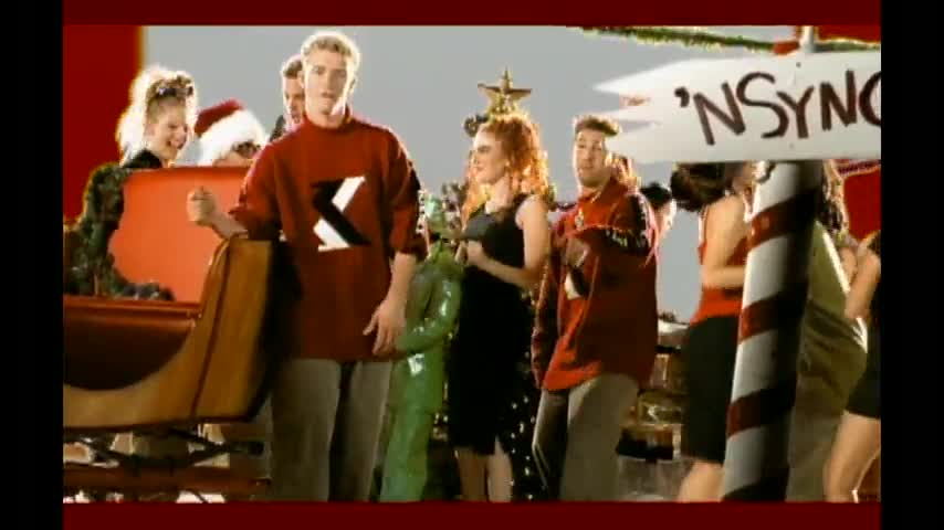 happy holidays nsync