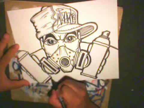 Gas Masks Drawing Drawing a Gas Mask Character