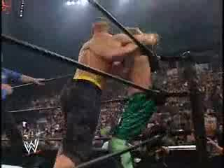 Wwe Judgment Day 2003 - John Cena & Fbi vs Rhyno, Chris Benoit & Spanky |hq|