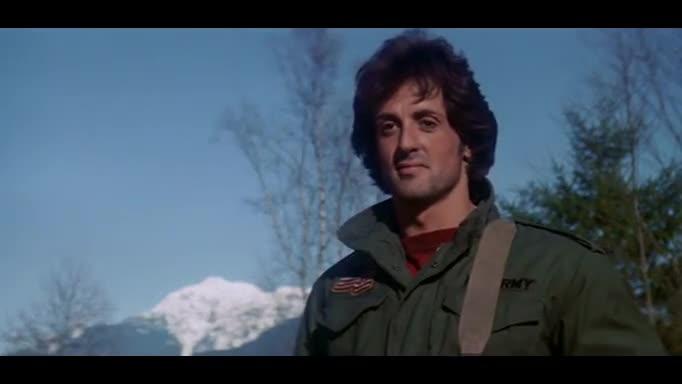 Филм - Рамбо: Първа Кръв - Бг Аудио ( Високо Качество ) Част 1 (1982)