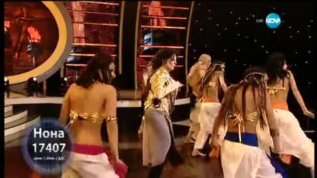 Шоу - Нона Йотова като Michael Jackson - Като две капки вода - 04.05.2015 г.