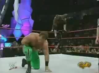 (3/7/2005) Chris Benoit vs Shelton Benjamin