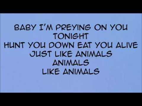 песня maroon 5 animals на русском слушать