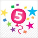 Пожелай Честит Рожден Ден на Vbox7.com - ставаме на 5 годинки :)