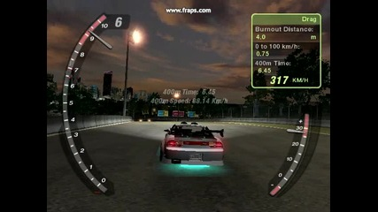 Nfs Underground 2 Dyno Drag 8.37s (moby dick)