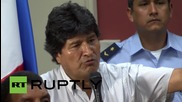 Panama: Morales blasts Obama, gives support to Cuba & Venezuela