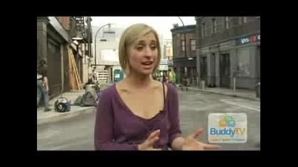 Buddytv Interview with Allison Mack (smallville)