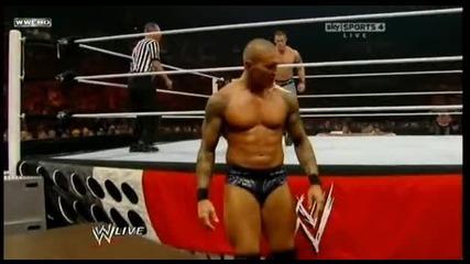 Ренди ортон вс джон сина мач с маси парт 1