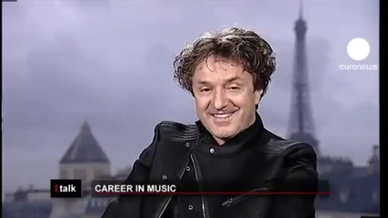 Goran Bregović - La musique c est un langage - euronews I talk
