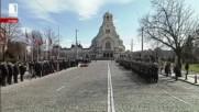 Церемония на 3-ти март от площада на Незнайния Войн - 139 години от Освобождението на България