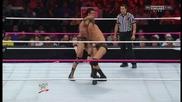Randy Orton reverses Cross Armbreaker into Powerslam