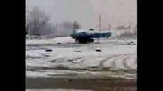 Лада Дрифтира На Сняг