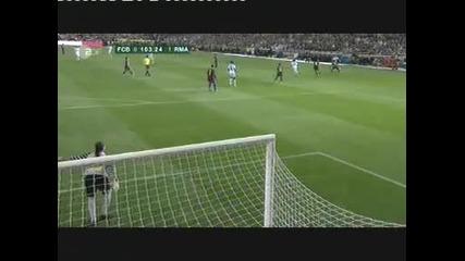 16.04.2011 - Ел Класико - Реал Мадрид 1-0 Барселона гол на Кристиано Роналдо