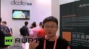 China: See world's first portable Virtual Reality glasses - Dlodlo Glass V1