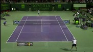 Roddick vs Federer - Miami 2012 - Long Highlights