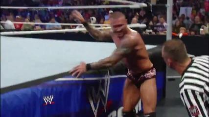 Dolph Ziggler vs. Randy Orton- Smackdown, Dec. 27, 2013