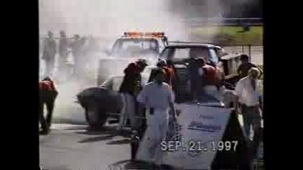 1966 Corvette Burnout Contest