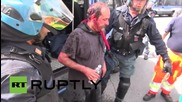 Italy: One arrest after clashes break out at anti-Salvini protest in Massa
