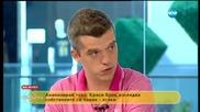 Експеримент: Краси Боев се снима, докато получава паник атака